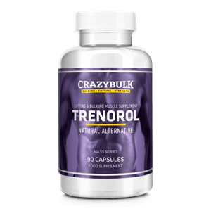 Trenorol Review - Trenbolone Alternative пълнител от Crazy Bulk