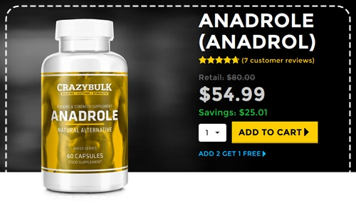 Anadrole (Anadrol) Review - Oxymetholone alternativa in vendita online