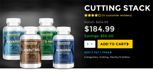 Compre corte Stack - clenbuterol Review - A, alternativa legal seguro para Clenbuterol