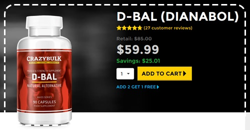 CrazyBulk D-Bal - Dianabol Alternative critique complète