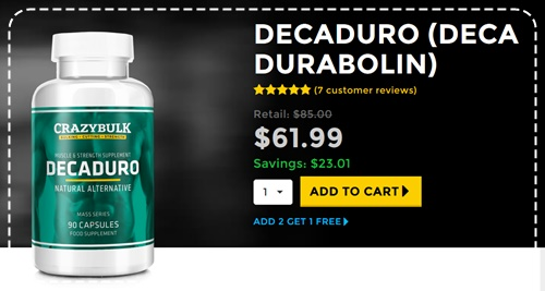 DecaDuro Pregled - Safe, Pravna alternativa Deca-Durabolin