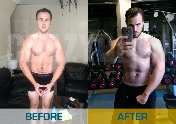 crazybulk usuarios-antes y después de la foto-Mathew-williams