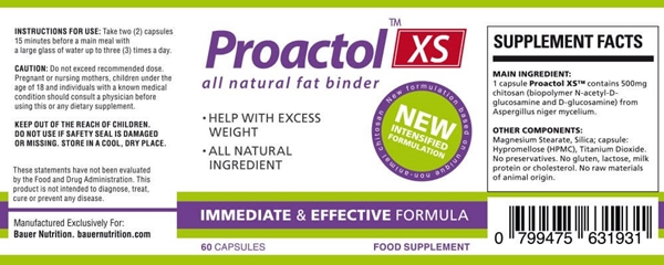 Proactol XS Ingredients Review - É seguro?  Leia a revisão completa