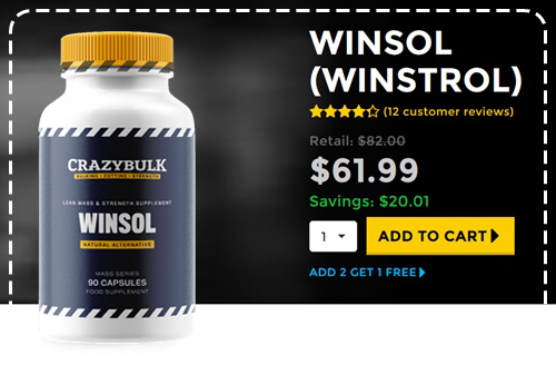CrazyBulk Winsol Šokantno Reviews - Ali je res deluje?
