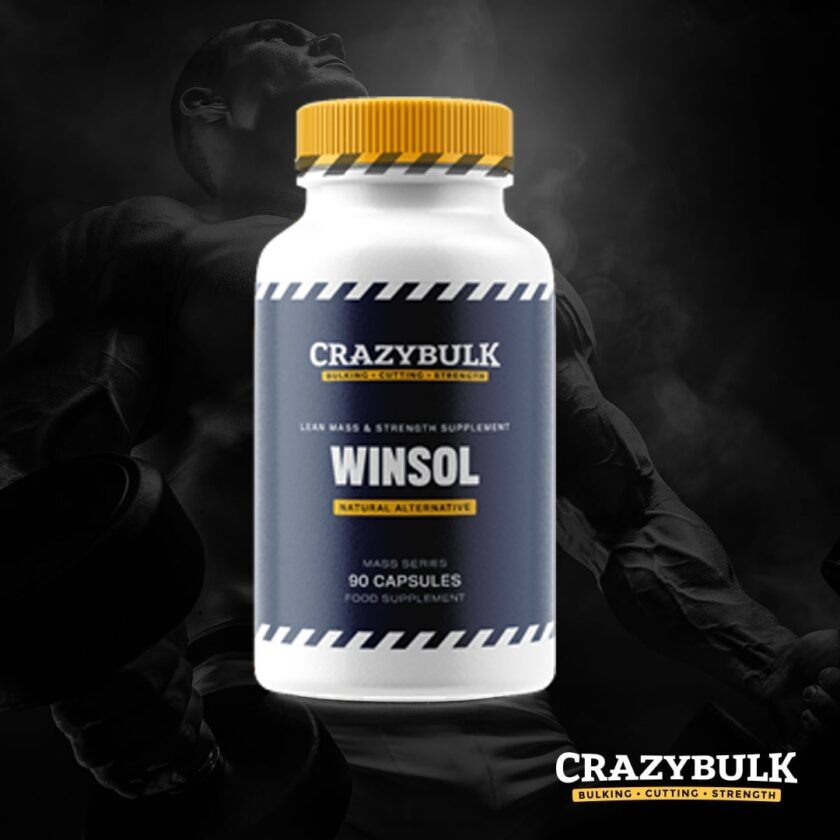 Crazy Bulk Winsol Review 2020: Este o alternativă eficientă la Winstrol?